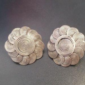 John Hardy vintage earrings silver .925